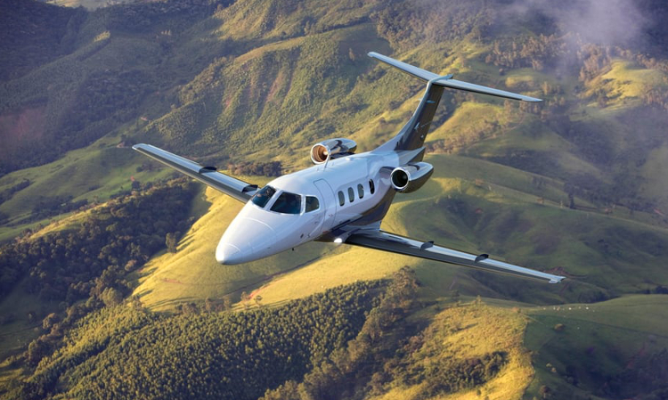 Phenom 100 available for charter